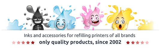 Inks, Cartridges, Toner, Photo Papers and much more. Online since 2002 !!!